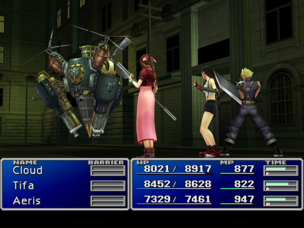FF7 remake battle scene by Ultimaespio 1024x768