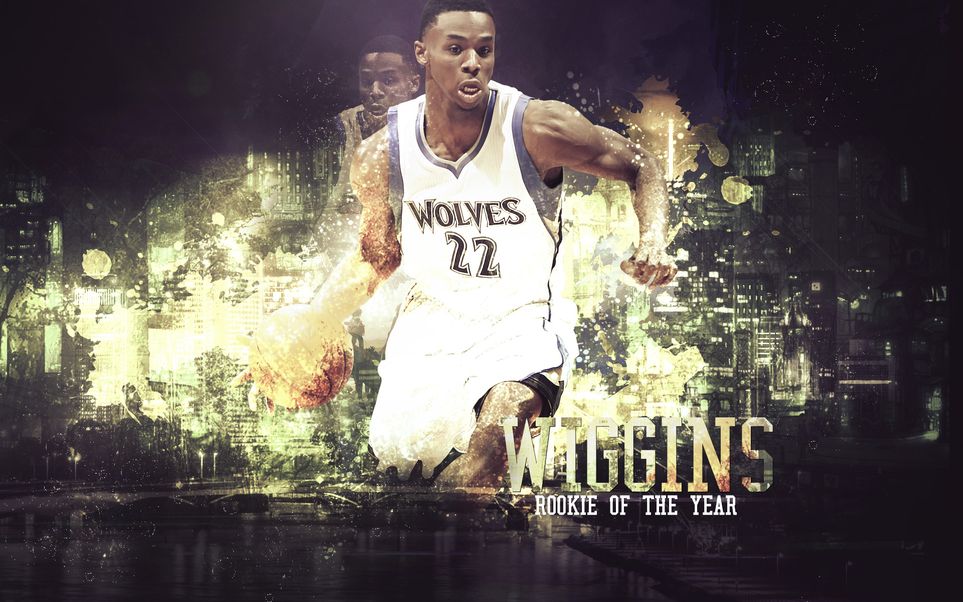 Andrew Wiggins 2015 ROTY 19201200 Wallpaper Basketball 1920x1200