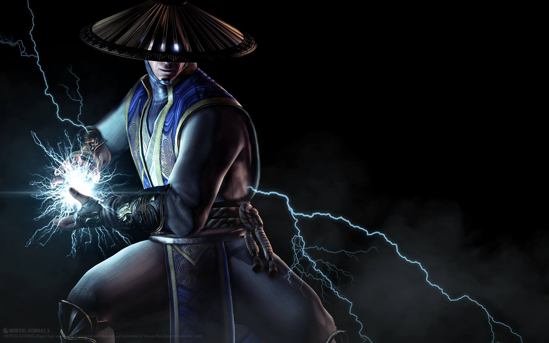 Mortal Kombat X Raiden Render Art Wallpaper Full HD 1920 1920x1200