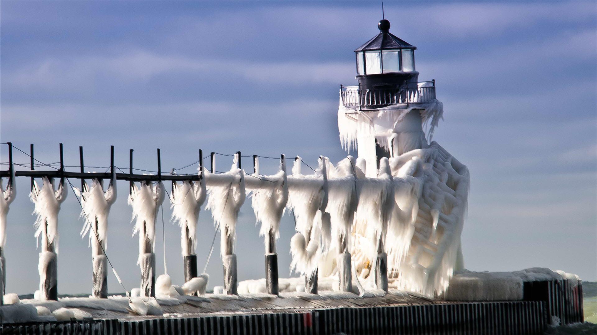 Winter Lighthouse wallpaper   755485 1920x1080