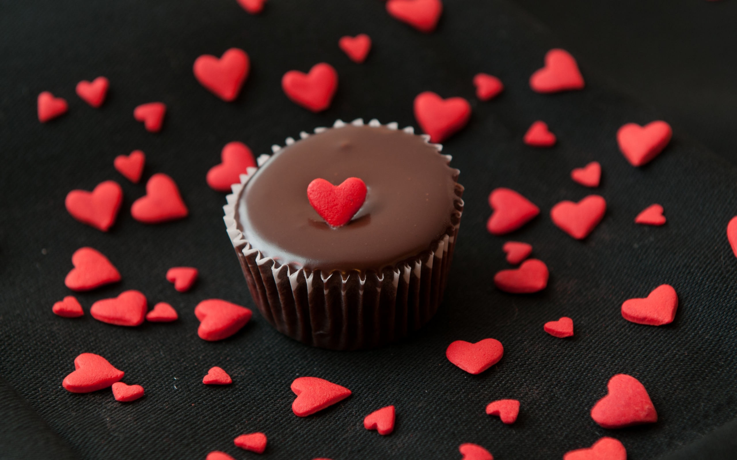 chocolate love cake Full HD Wallpaper and Background 2560x1600