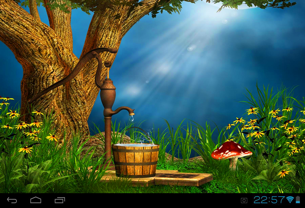 Beautiful Fairy Tales LWP 1mobilecom 1024x700