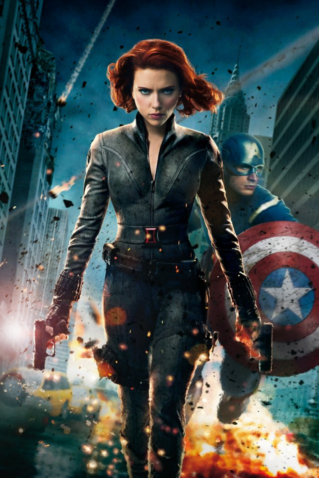 The Avengers   Black Widow iphone wallpaper 640x960
