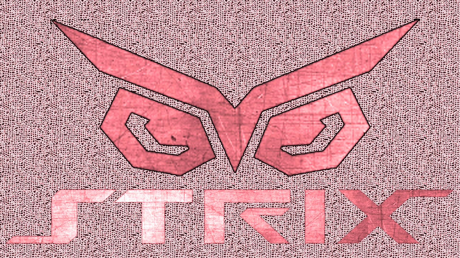 Asus Strix Logo Wallpaper by svckergamer 1920x1080
