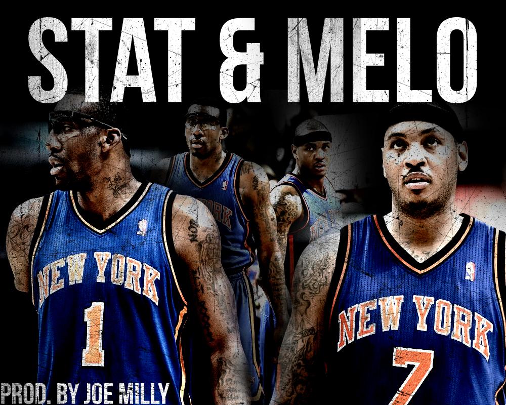 Stat and Melo Ny Knicks Wallpaper RARE UNLIMITED 1000x800