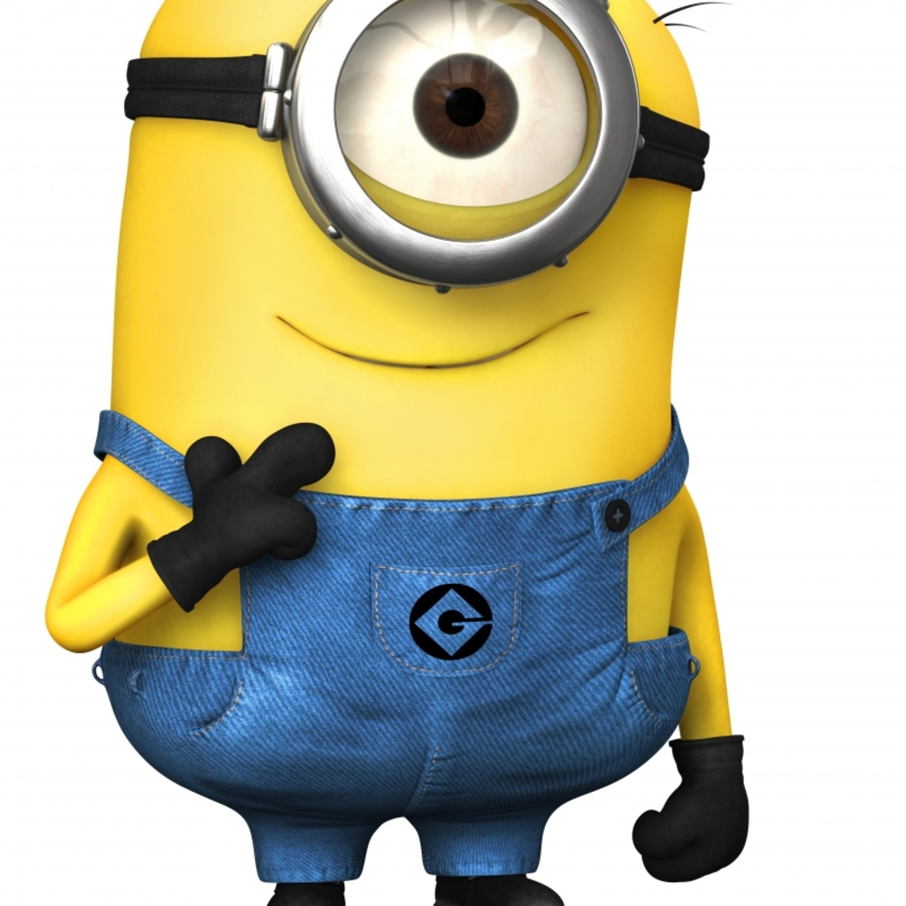 Minion Wallpaper for Apple iPad 1024x1024