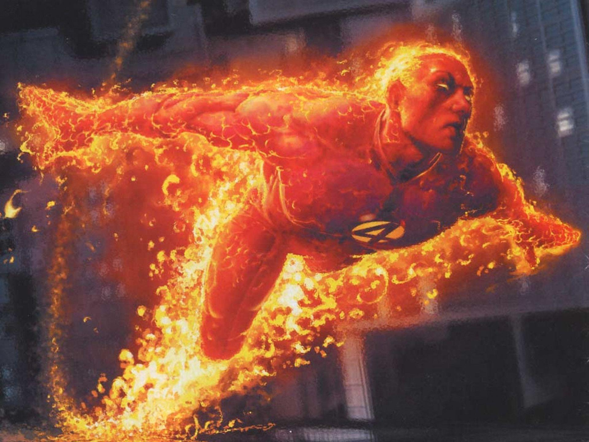 Human Torch Wallpapers 1920x1440
