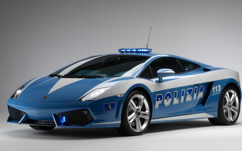 Cool Wallpapers   Lamborghini Italian Police Cool Wallpapers 1440x900