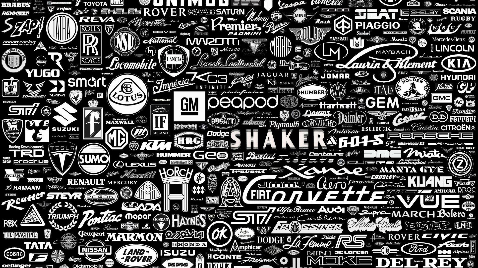 Collection Cars Brands Logo Wallpaper For Des 1003 Wallpaper 1920x1080