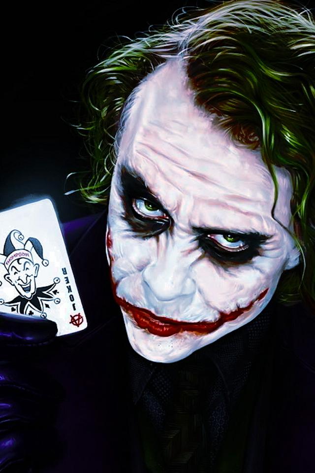 Joker Dark Knight iPhone Wallpapers HD iPhone Wallpaper Gallery 640x960