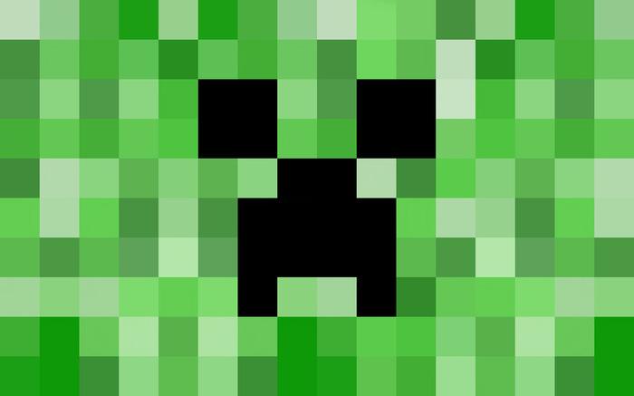 Creeper Wallpaper Windows Minecraft creeper theme has 700x437
