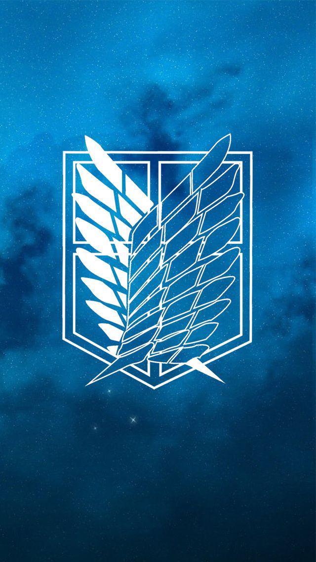 50 Attack On Titan Logo Wallpaper On Wallpapersafari