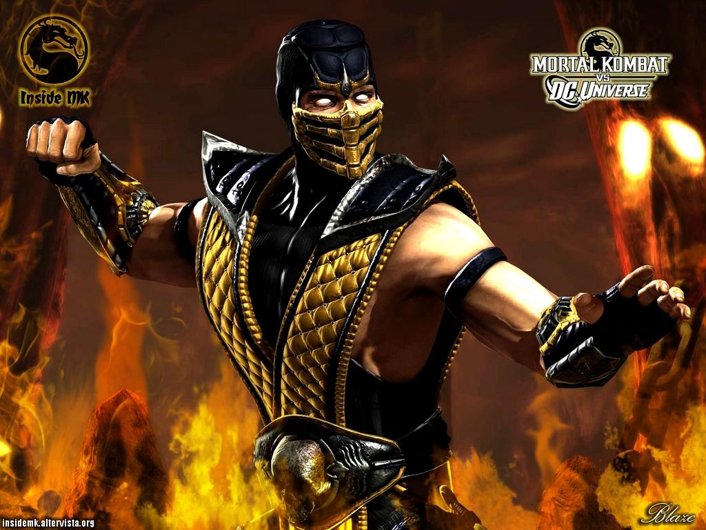 Mortal Kombat Wallpaper Scorpion 1 1024x768
