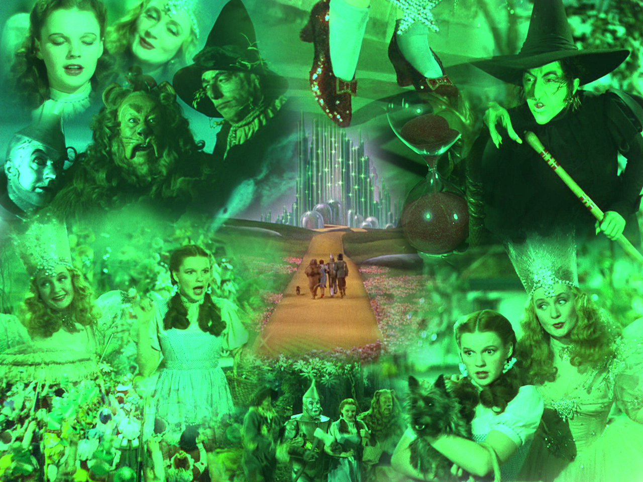 Wizard of oz wallpaper wallpapersafari - The wizard of oz hd ...