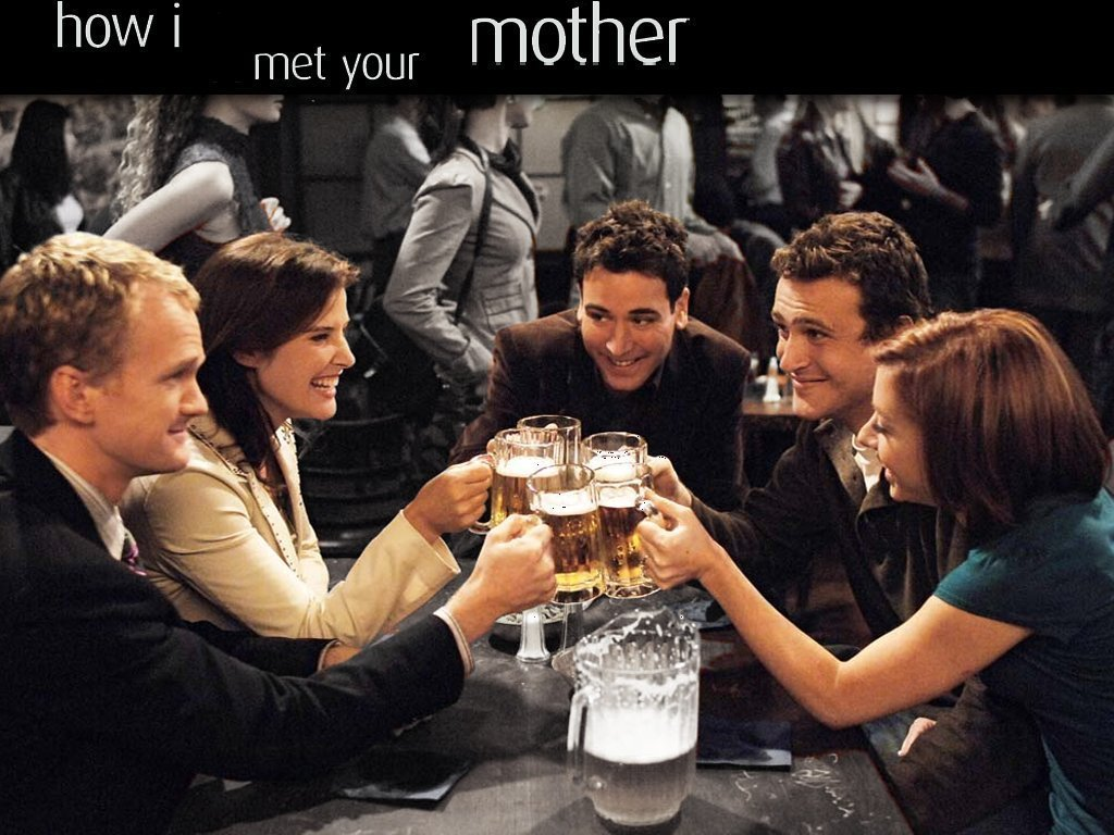 Wallpaper DB how i met your mother background 1024x768