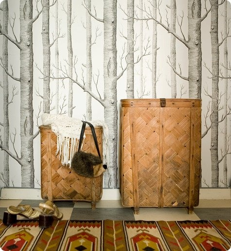 WOODS wallpaper Cole And Son Remodel Pinterest 475x515