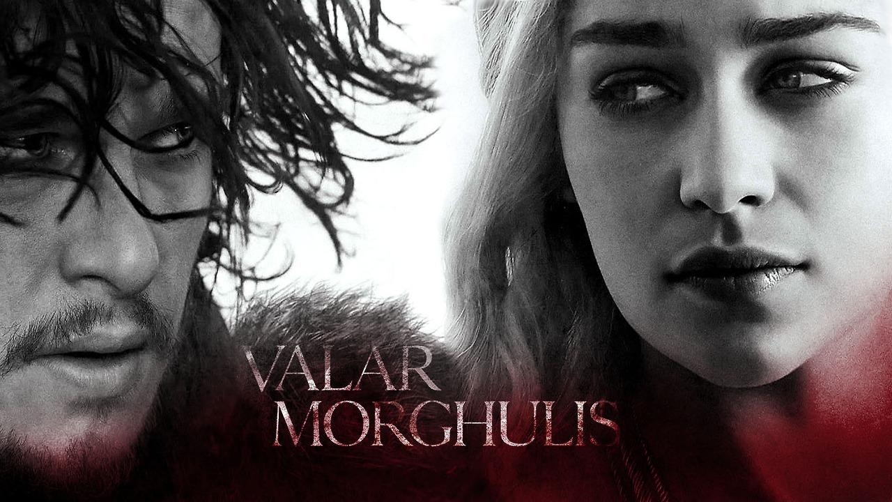Daenerys Targaryen Jon Snow   Game of Thrones Wallpaper 1280x720