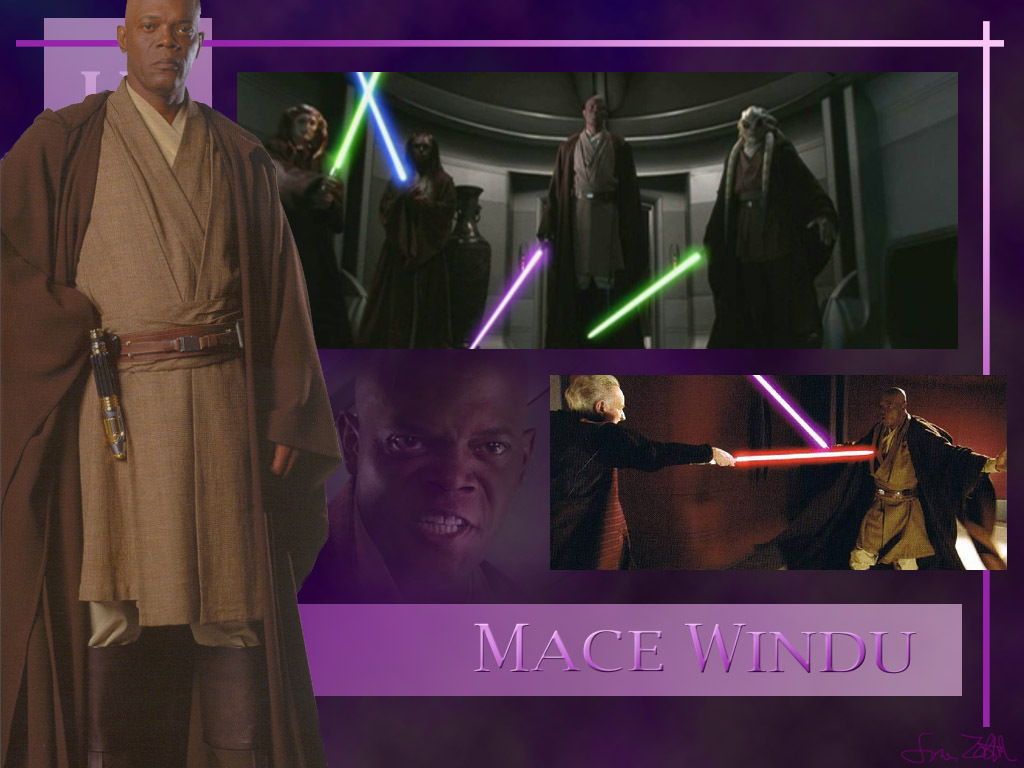 Mace Windu   Star Wars Characters Wallpaper 3339755 1024x768