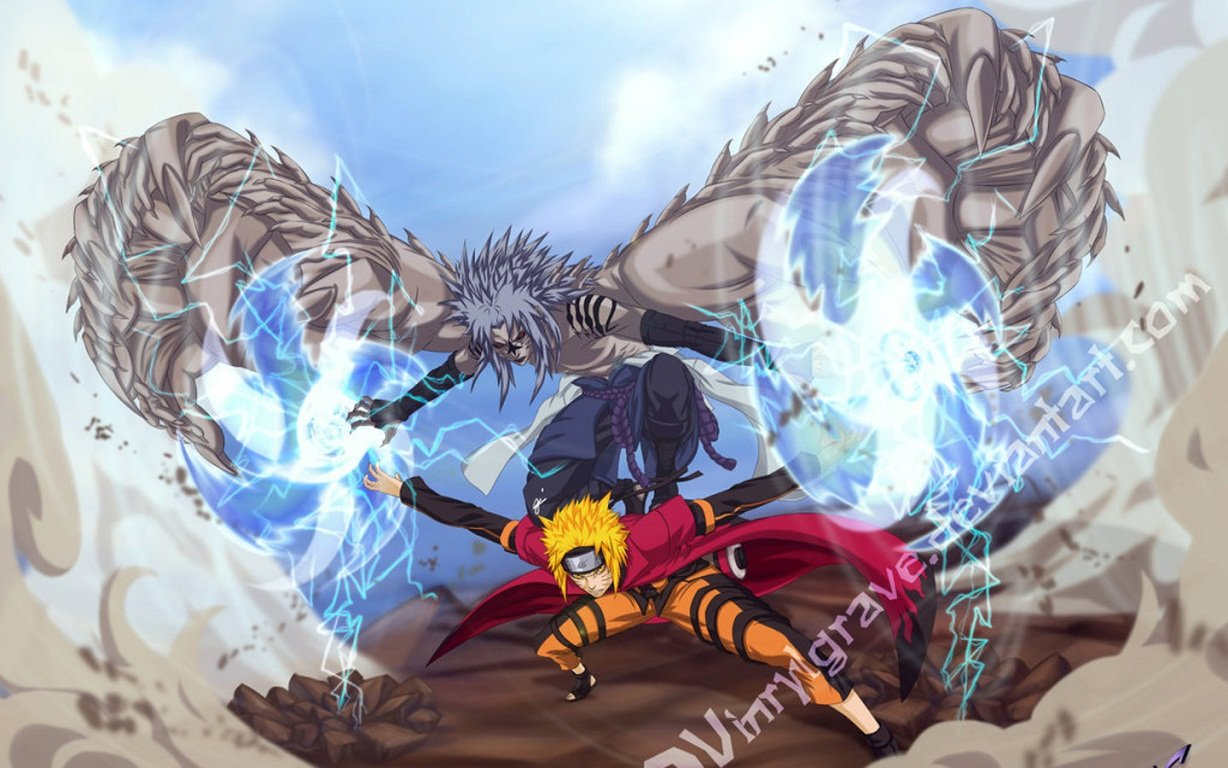 Free Download Naruto Sage Mode Wallpapers 1228x768 For Your