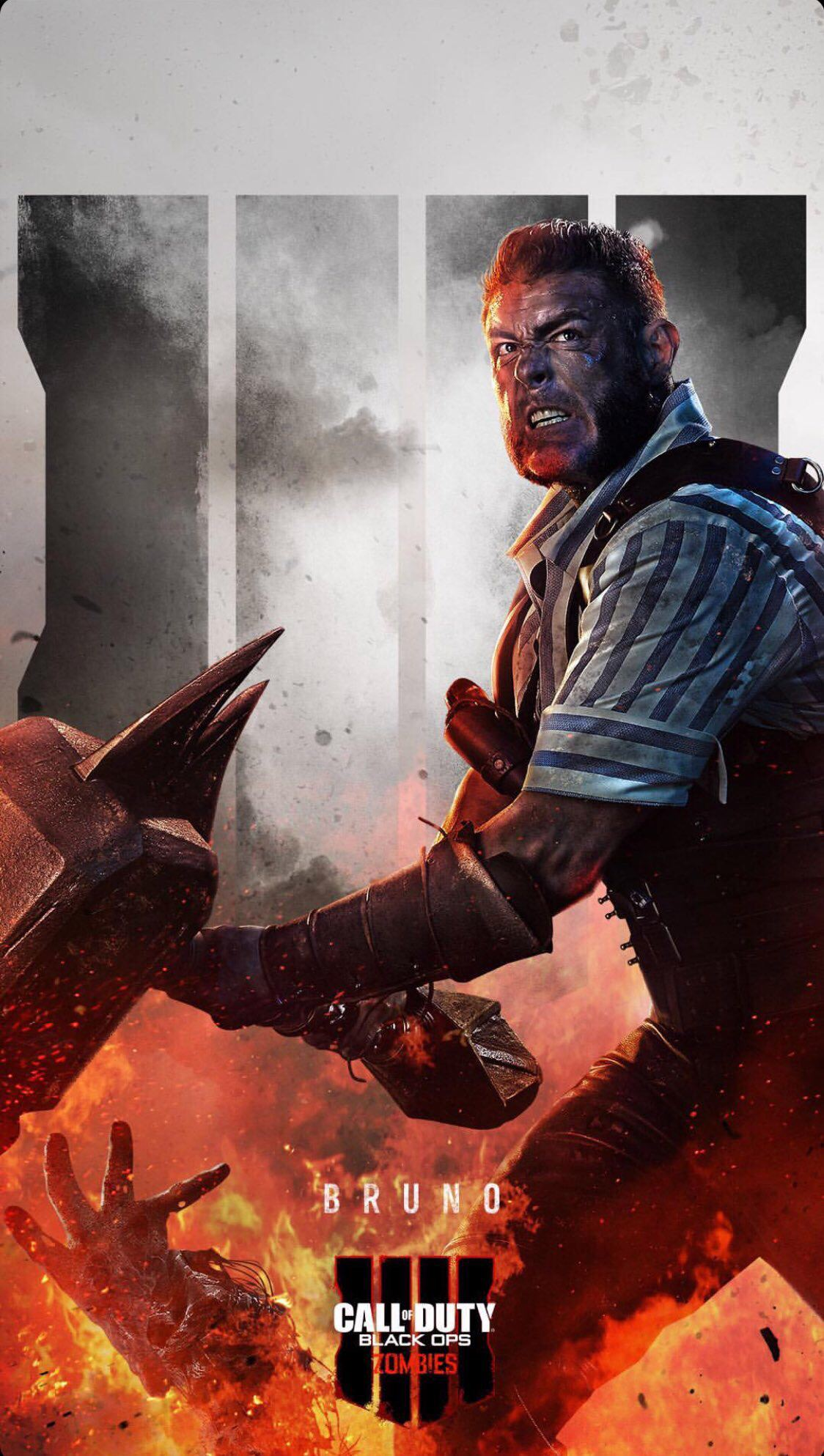 Free Download New Black Ops 4 Zombies Phone Wallpapers Charlie