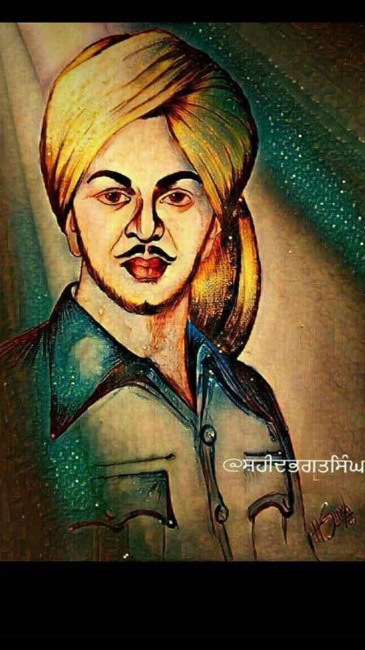Shahid e alam bhagat singh Bhagat singh wallpapers Indian 720x1280