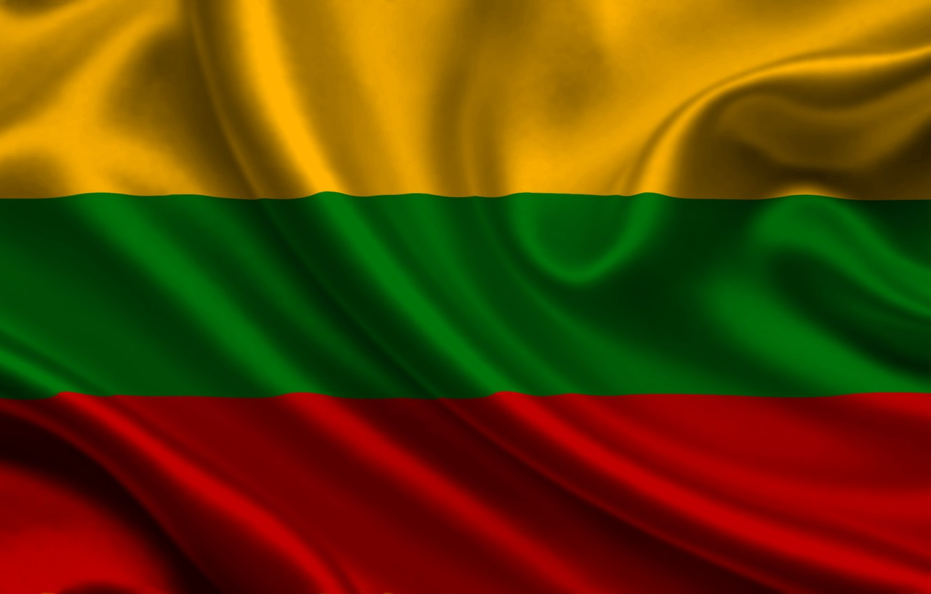 Wallpaper flag Lithuania lithuania images for desktop section 1332x850