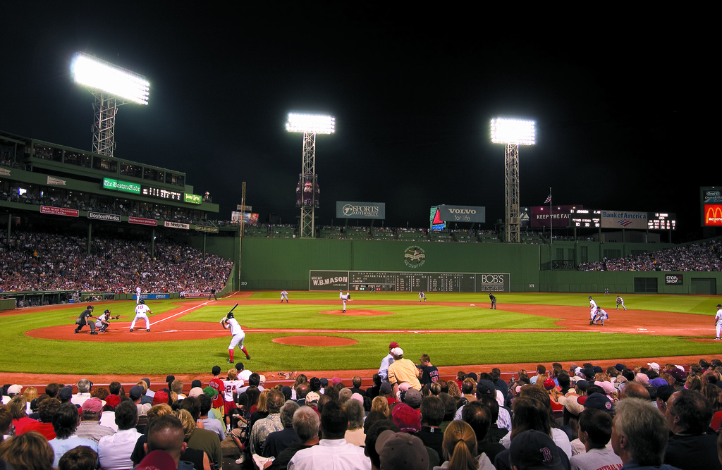 Fenway Park and the Green Monster Credit Boston Visitors 1024x667