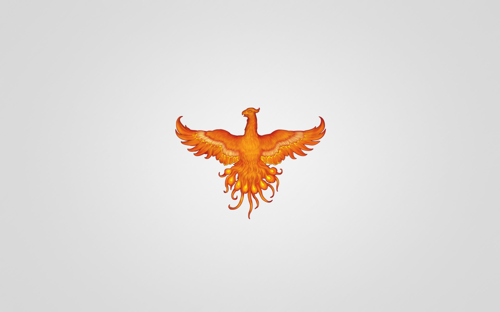 Phoenix bird hd wallpaper wallpapersafari for Minimal art hd