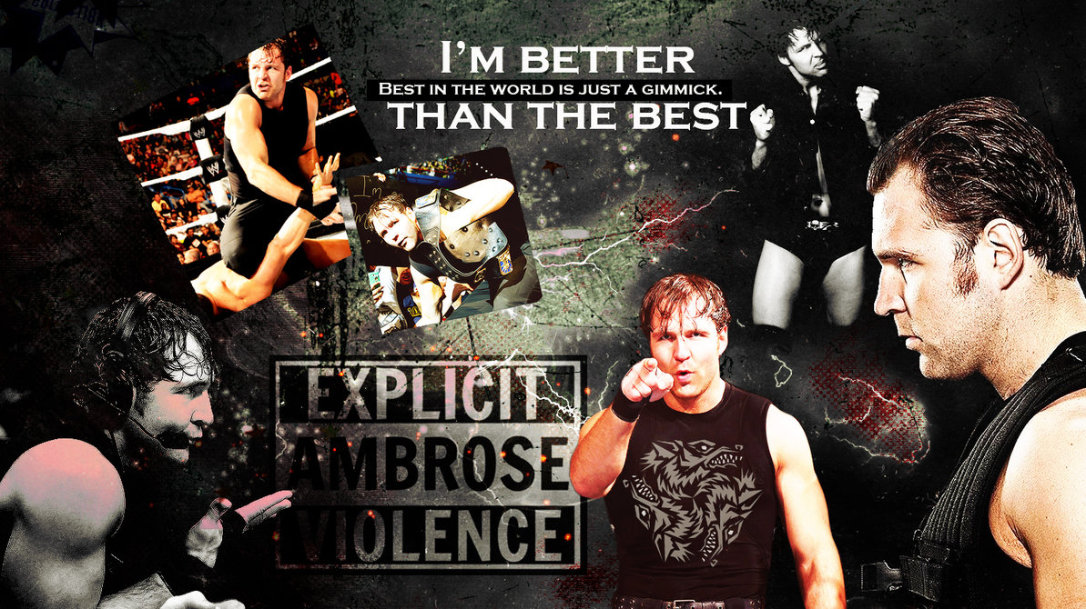 dean ambrose wallpaper for al by rollingstar89 customization wallpaper 1193x670