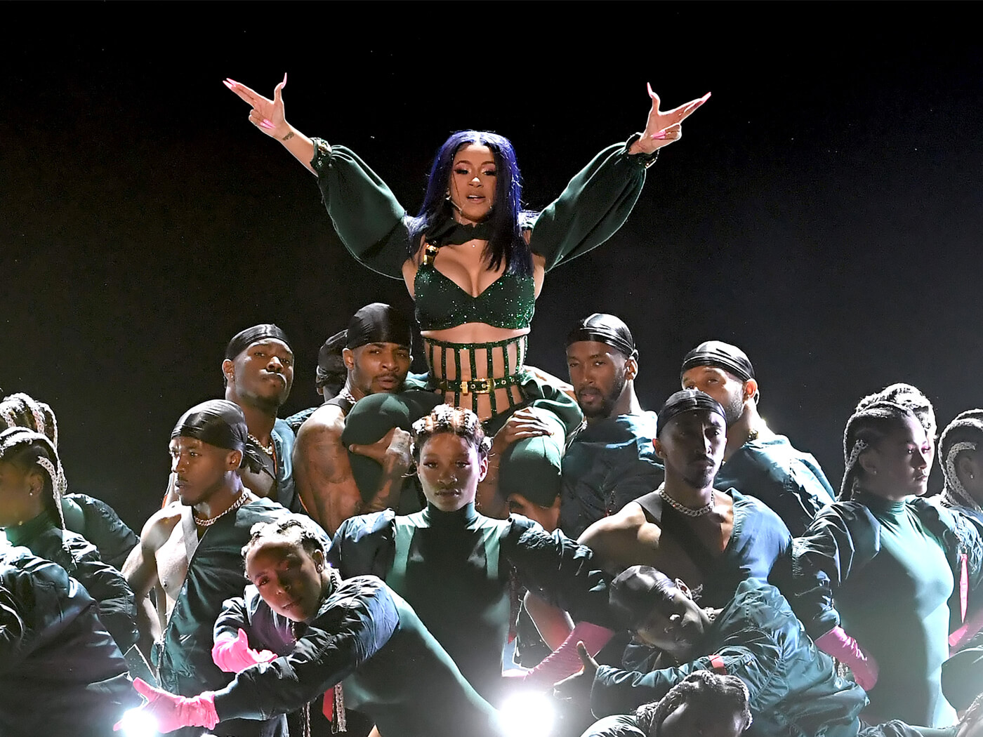 Watch performances by Cardi B Lil Nas X and more at the BET 1400x1050