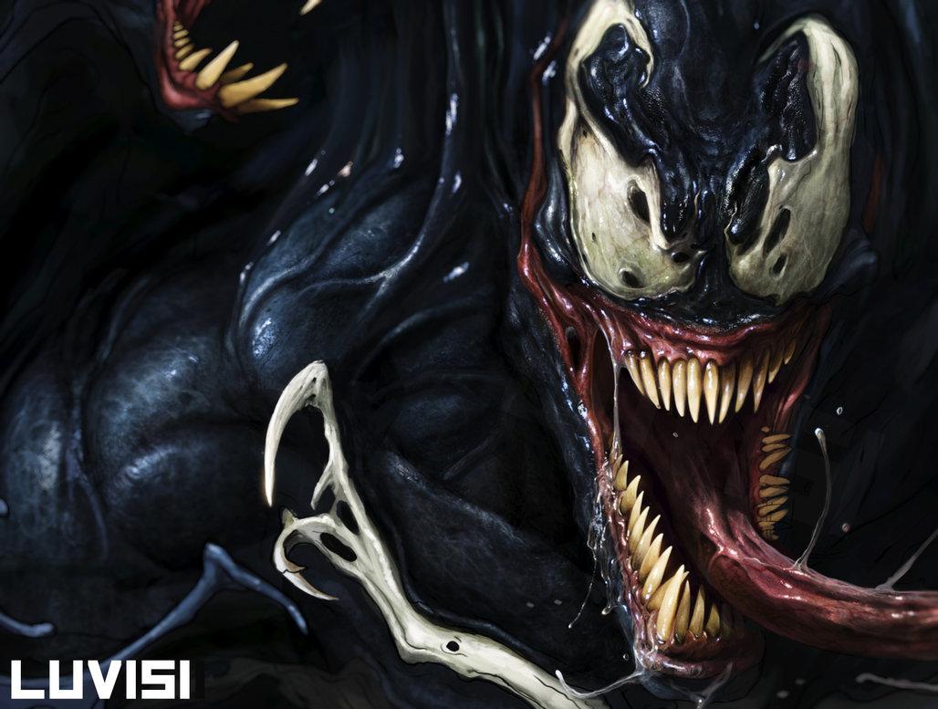 Venom WIP by DanLuVisiArt 1028x777