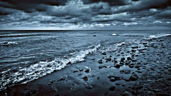 rainstormbeaches ocean rain storm beaches Oceans Wallpapers 600x337