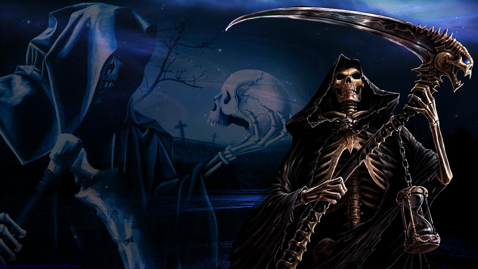 Grim Reaper Wallpaper HD wallpaper background 1600x900