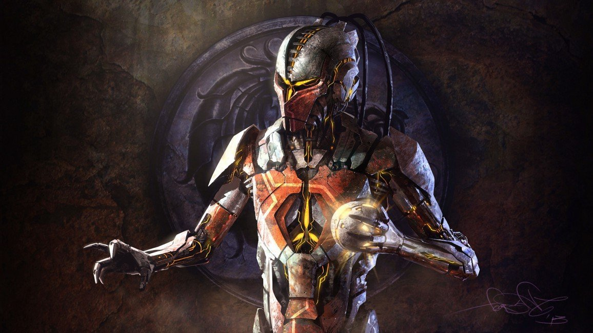 Mortal Kombat Sektor Robot Cyborg   Stock Photos Images HD 1156x650