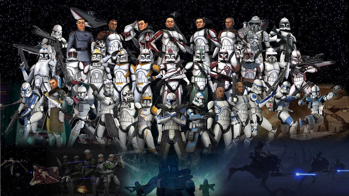 38] 501st Clone Trooper Wallpaper on WallpaperSafari 1191x670