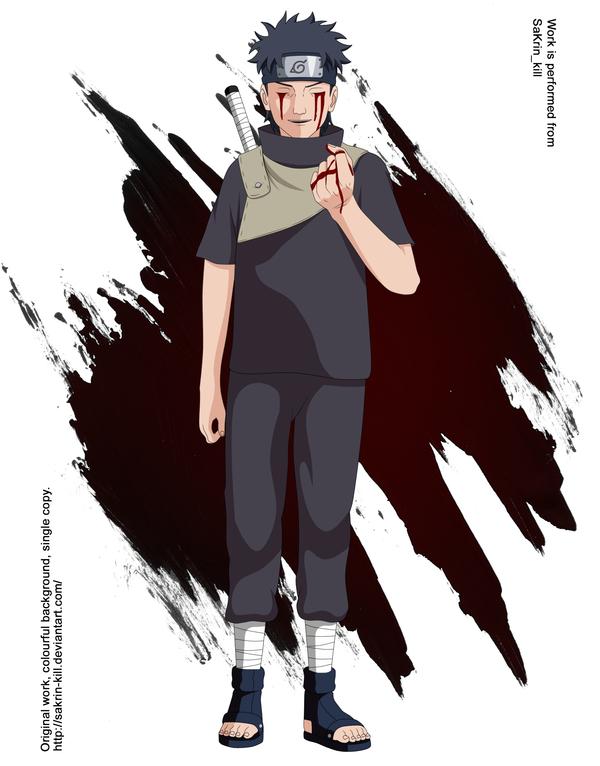Shisui Uchiha by SaKrin kill 600x766