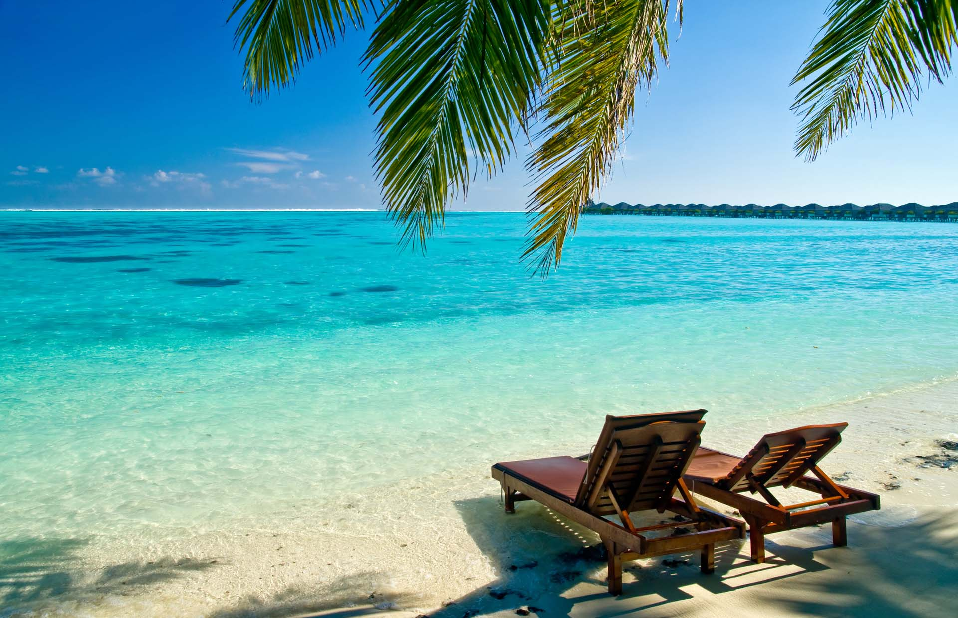 2 beach chairs on the beach - Summer Beach Desktop Wallpapers Daily Backgrounds In Hd