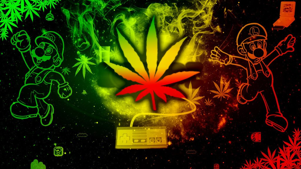 Rasta Weed Wallpaper Rastaweed wallpaper by 1024x576