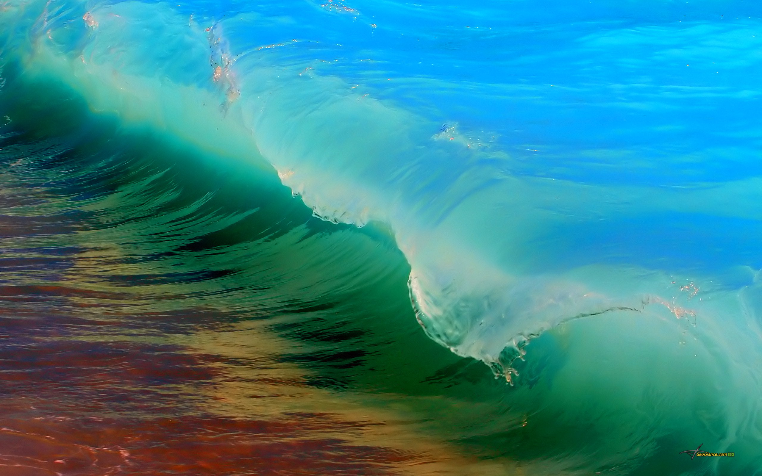 54 HD beautiful wallpapers of water for your Android devices 2560x1600