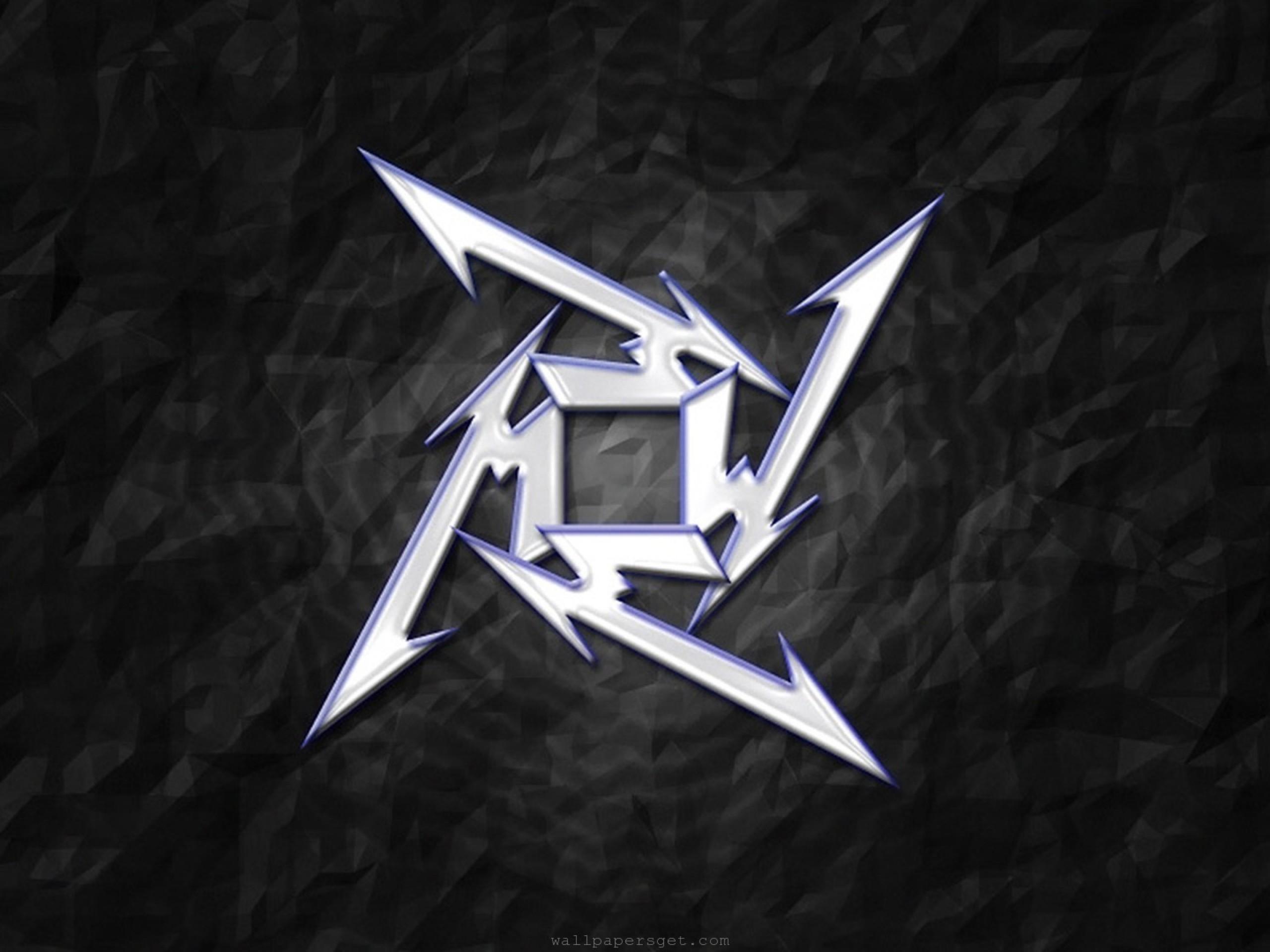 Metallica Logo Wallpaper 2560x1920