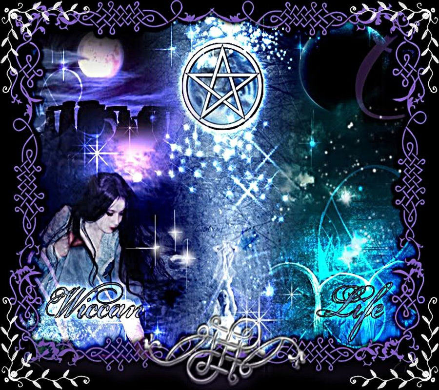 Wiccan Life Pagan Symbols Wiccan Witch Witchcraft 90786 900x800