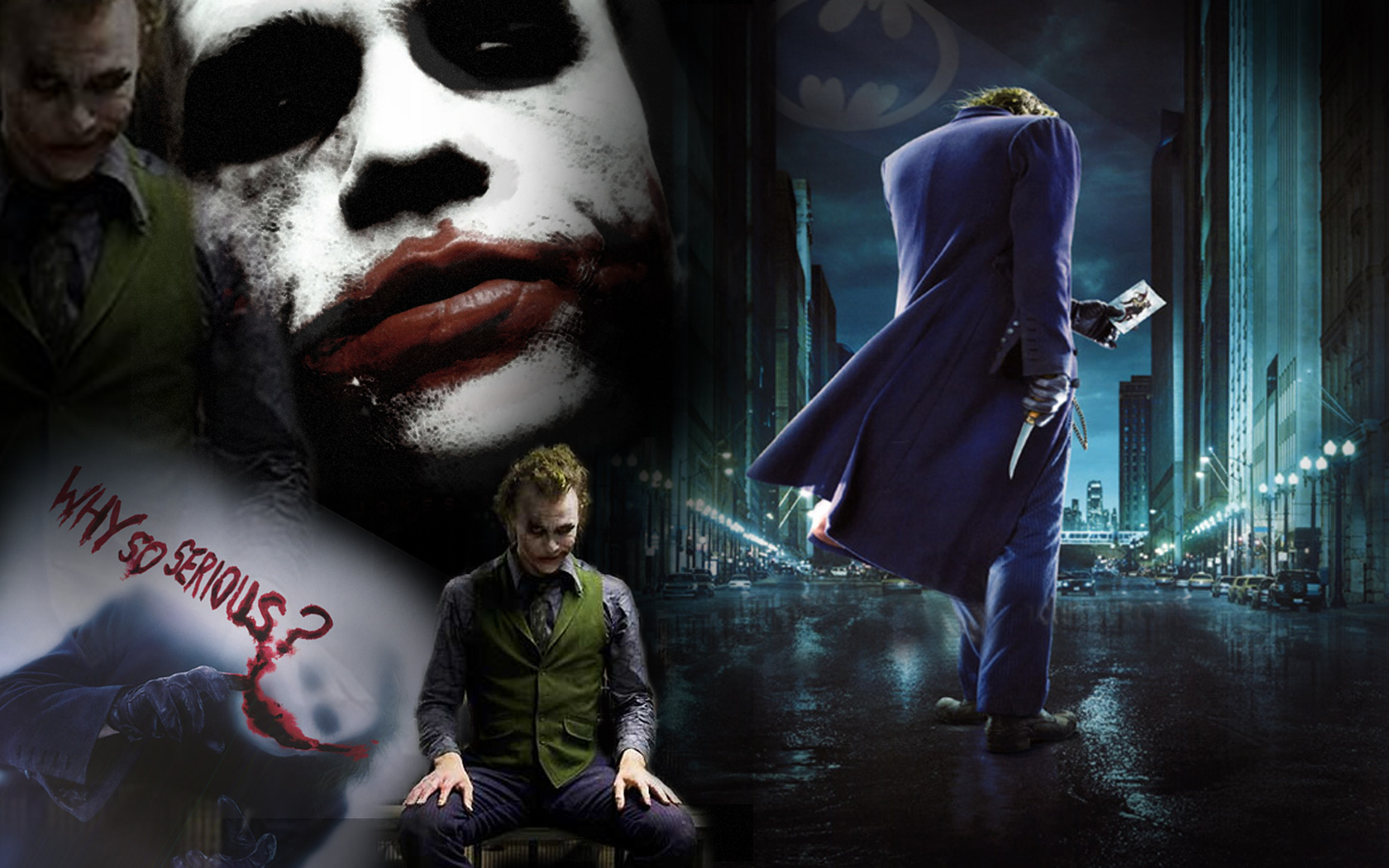 Joker   Heath Ledger Wallpaper 14370980 1680x1050
