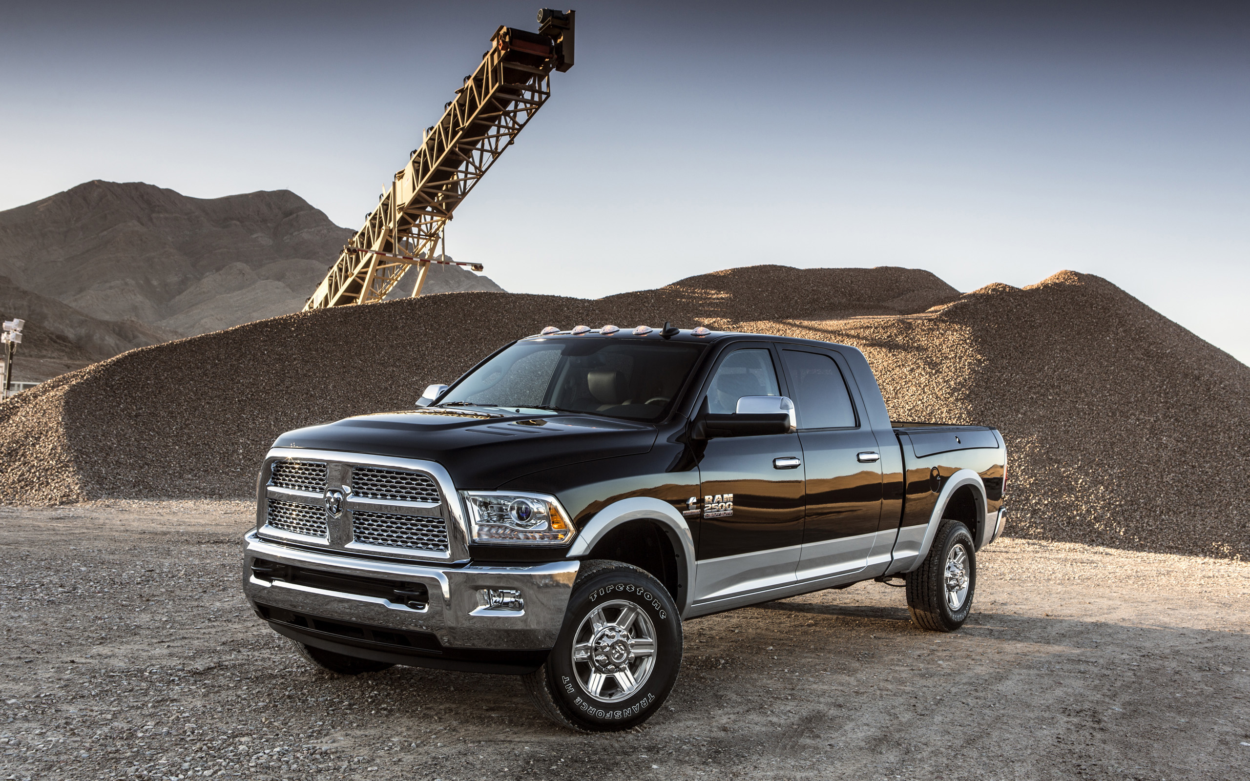 2013 Dodge Ram 2500 4x4 truck wallpaper background 2560x1600