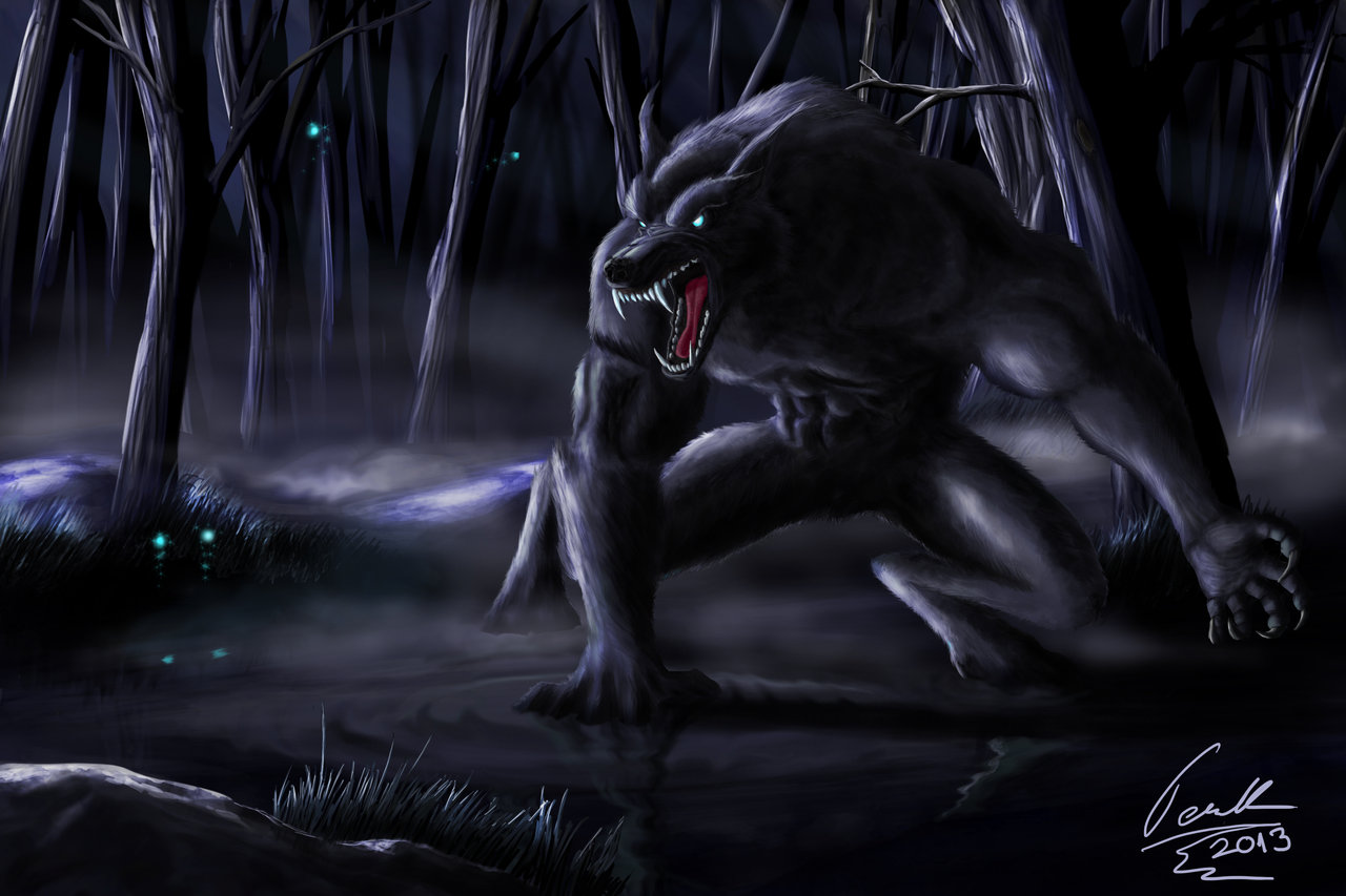 Werewolf by Teuskiz 1280x853