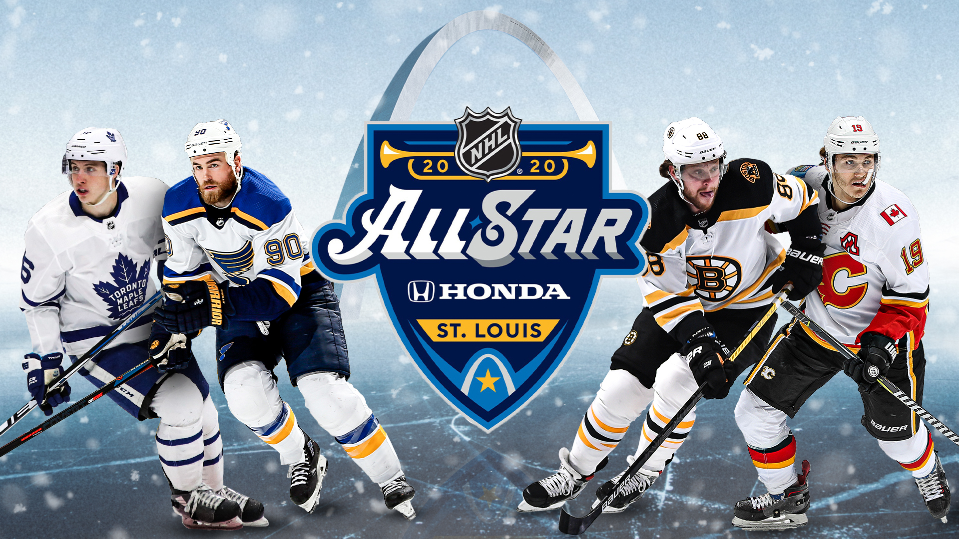 NHL All Star Game 2020 Date start time rosters TV channel 1920x1080