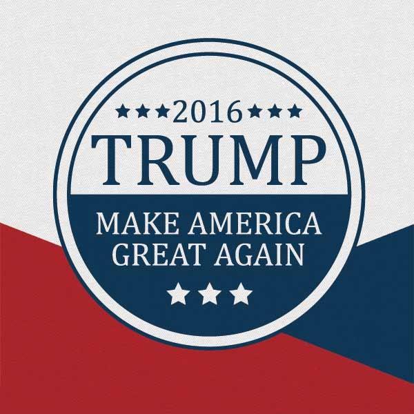 Trump 2016 iphone wallpaper wallpapersafari for Make america great again wallpaper