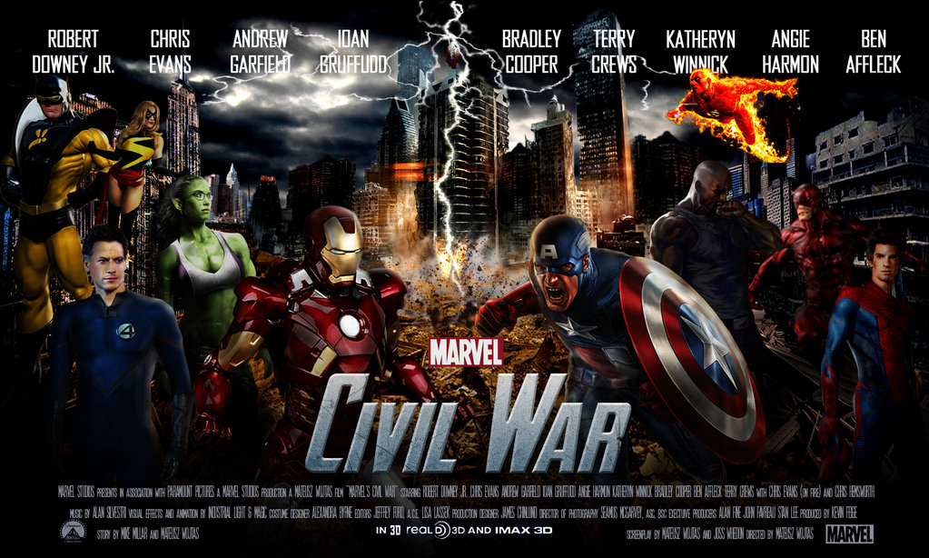 FunMozar Captain America Civil War Wallpapers 1023x614