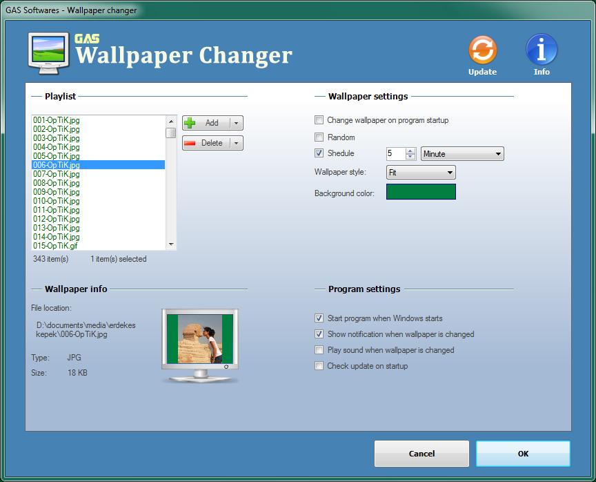Download Address Book   Wallpaper Changer 864x698