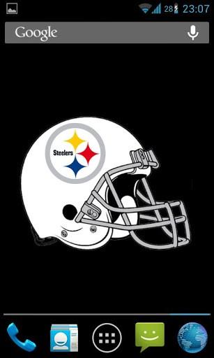 View bigger   Steelers Helmet Live Wallpaper for Android screenshot 307x512