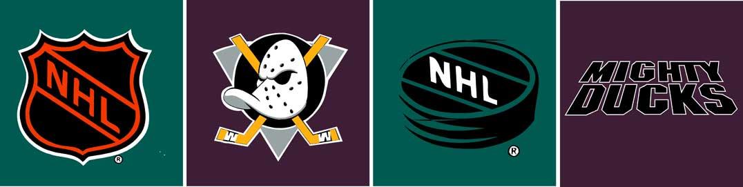 Anaheim Mighty Ducks Logo Wallpaper Border 1076x271